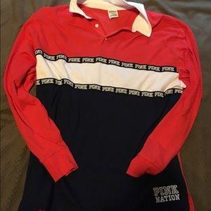 Victoria secret ( pink) long sleeve shirt